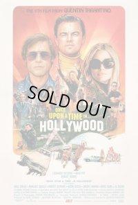 ワンス・アポン・ア・タイム・イン・ハリウッド US版オリジナルポスター