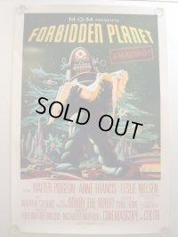 禁断の惑星 US版オリジナルポスター50th