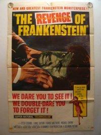 フランケンシュタインの復讐 US版オリジナルポスター