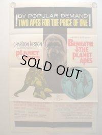 猿の惑星 US版オリジナルポスター コンボ