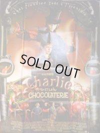 チャーリーとチョコレート工場 FR版リプリントポスター
