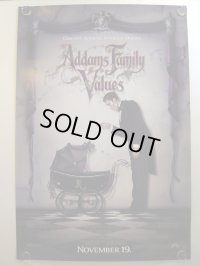 アダムス・ファミリー2/ADDAMS FAMILY VALUES US版オリジナルポスター