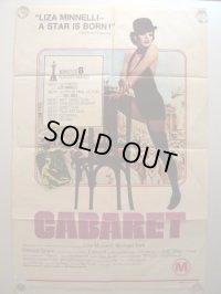 キャバレー オーストラリア版オリジナルポスター