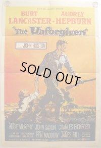 許されざる者/UNFORGIVEN US版オリジナルポスター