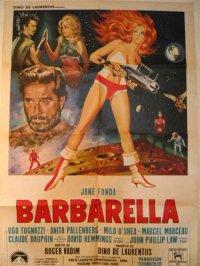 バーバレラ イタリア版オリジナル2シートポスター