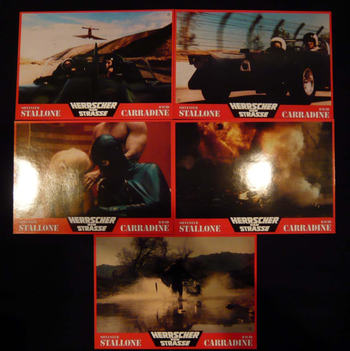 画像3: デス・レース2000年 ドイツ版オリジナルロビーカードセット