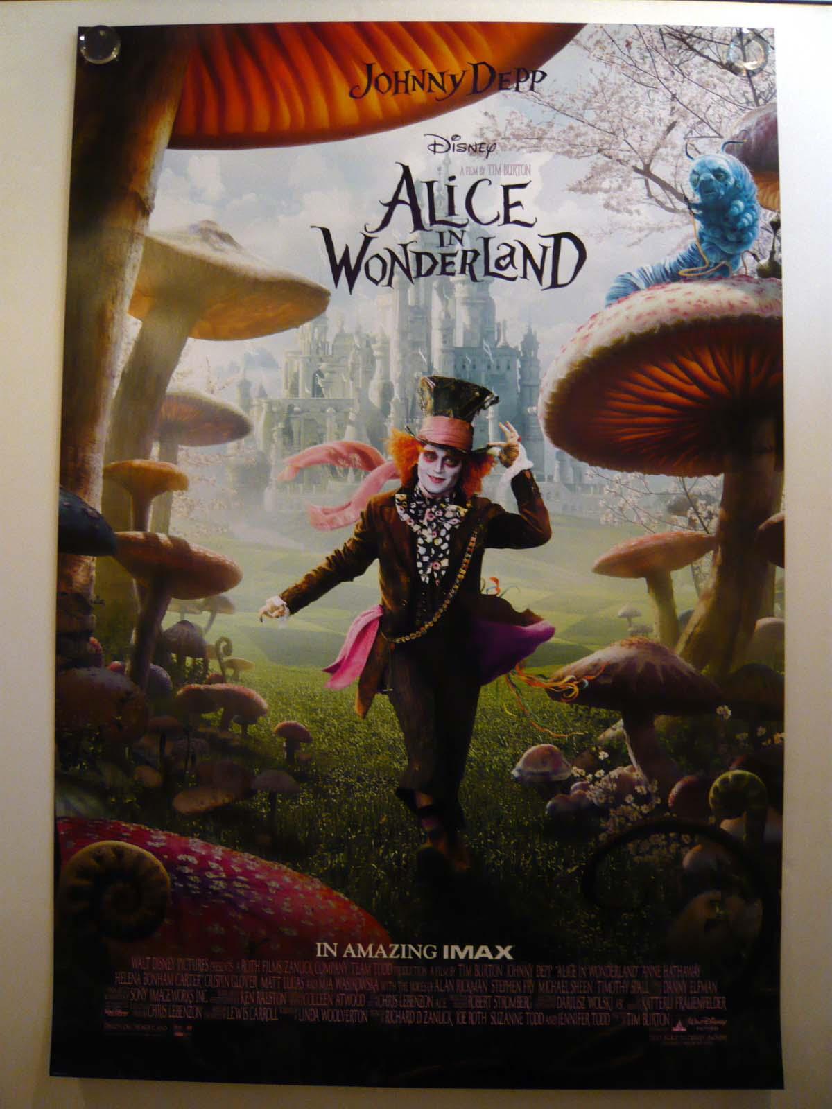 画像1: アリス・イン・ワンダーランド US版オリジナルポスター