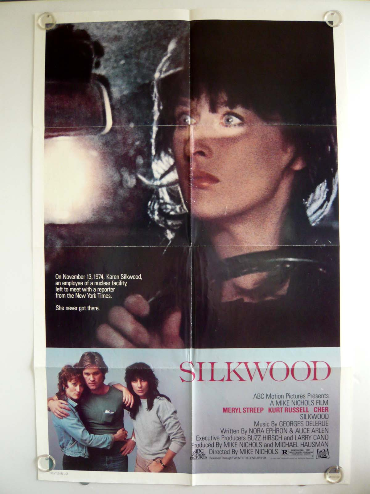 画像1: シルクウッド US版オリジナルポスター