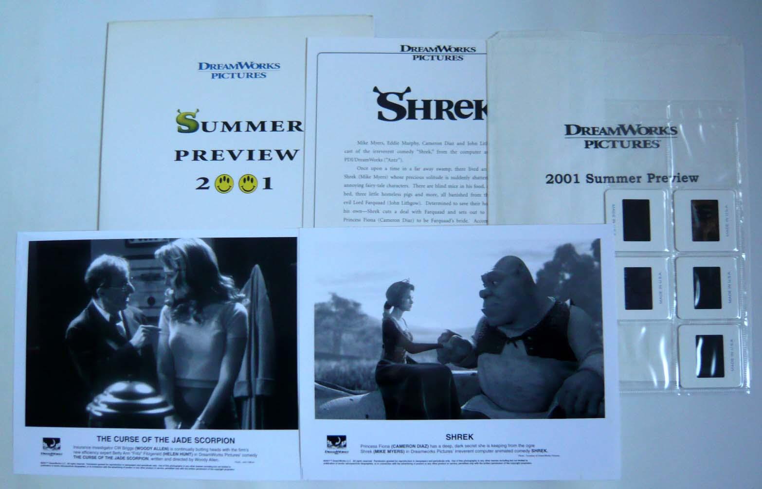 画像1: ドリームワークス2001サマーシーズンプレビュー US版オリジナルプレスキット