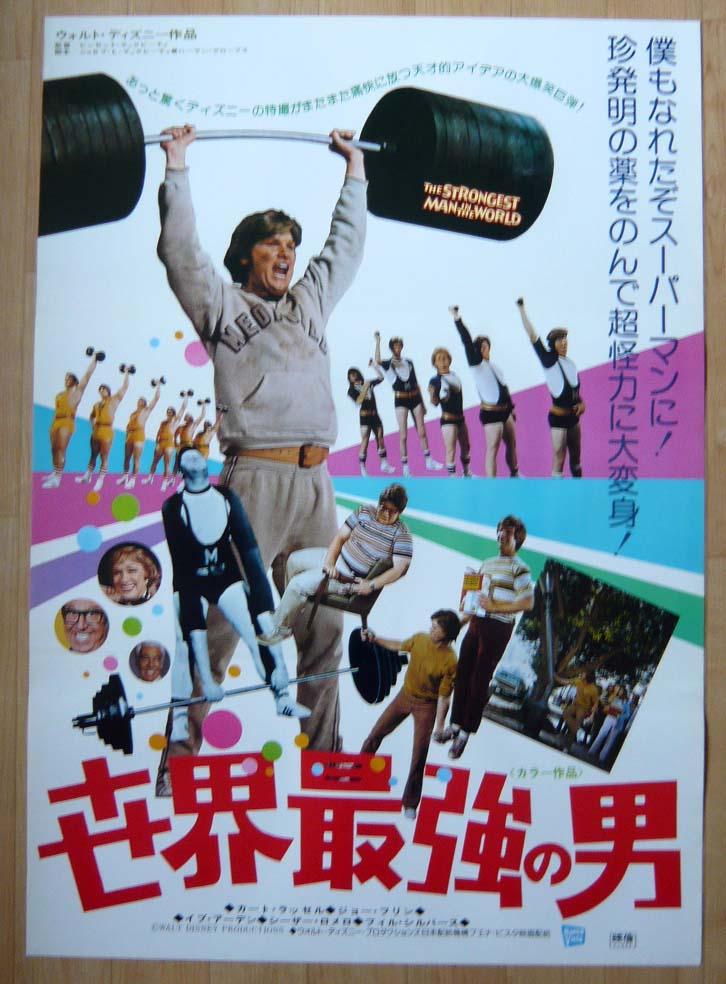 画像1: 世界最強の男 国内版B2ポスター