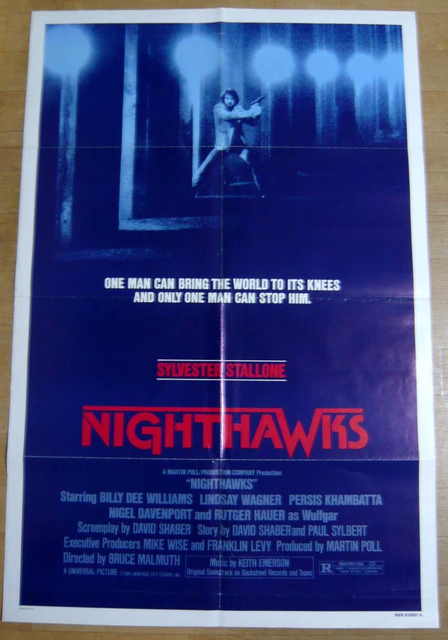 画像1: ナイトホークス US版オリジナルポスター