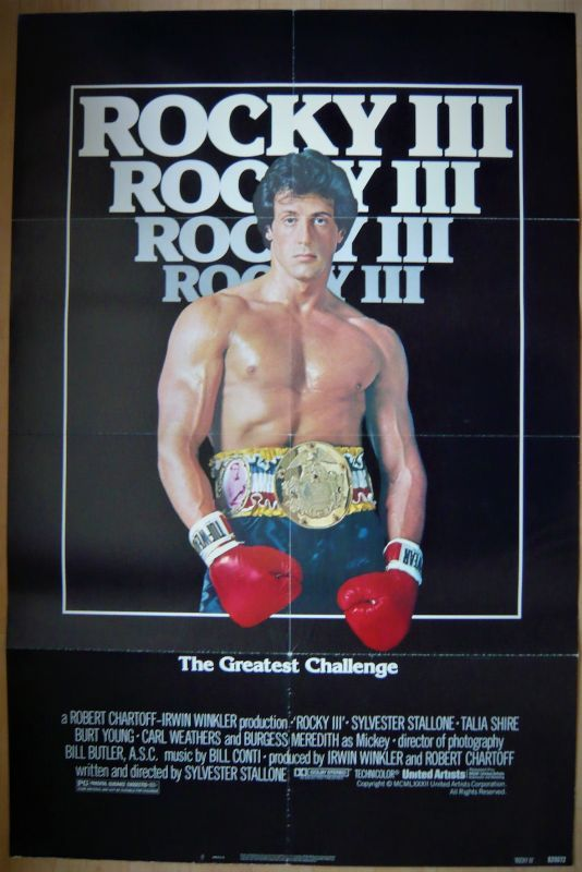 画像1: ロッキー3 US版オリジナルポスター