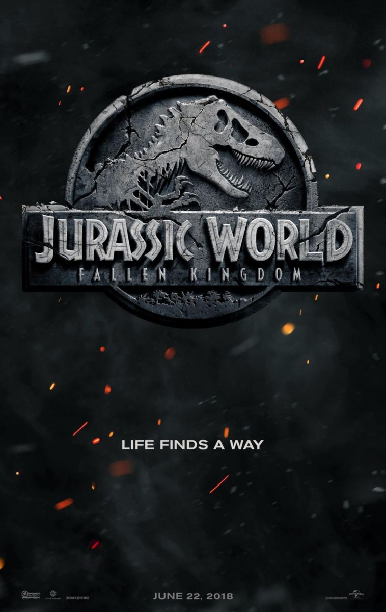 画像1: ジュラシック・ワールド/炎の王国 US版オリジナルポスター