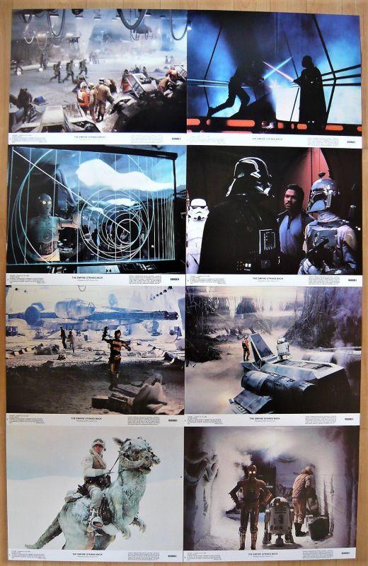 画像1: スター・ウォーズ 帝国の逆襲 US版オリジナルロビーカードセット