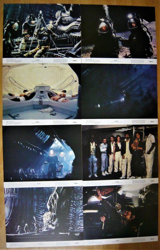 画像1: エイリアン US版オリジナルロビーカードセット
