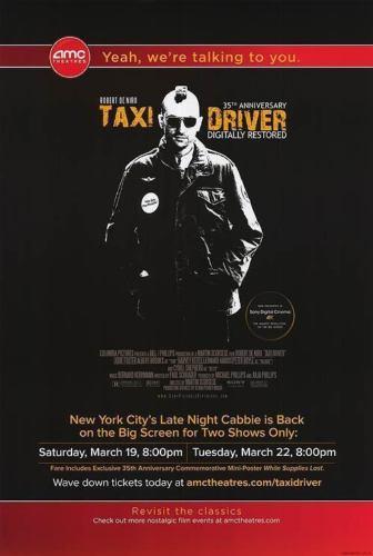 画像1: タクシードライバー 35th US版オリジナルポスター