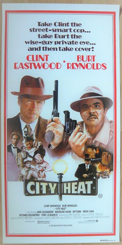 画像1: シティヒート オーストラリア版オリジナルポスター
