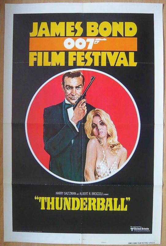 画像1: 007/サンダーボール作戦 US版オリジナルポスター