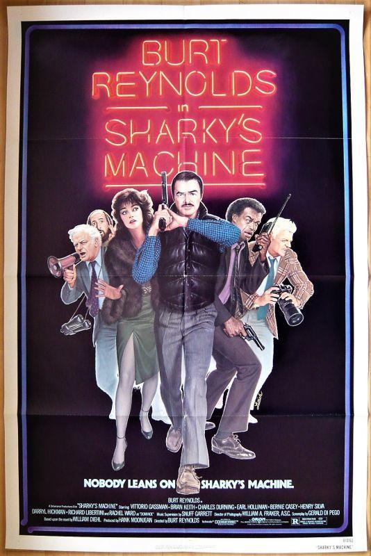 画像1: シャーキーズ・マシーン US版オリジナルポスター