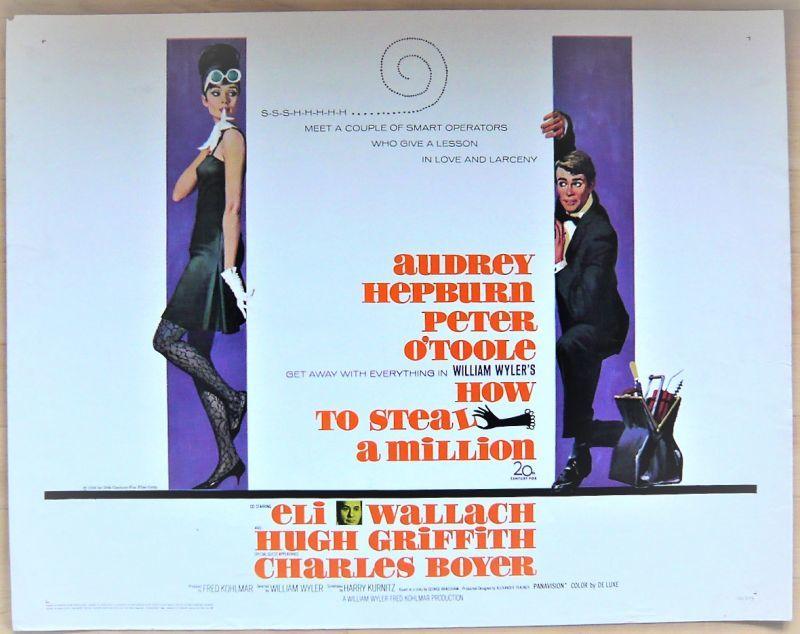 画像1: おしゃれ泥棒 US版オリジナルポスター