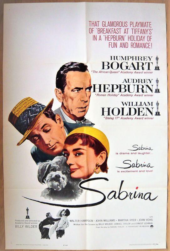 画像1: 麗しのサブリナ US版オリジナルポスター