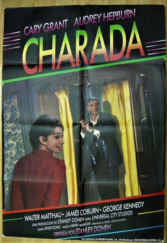 画像1: シャレード スペイン版オリジナルポスター