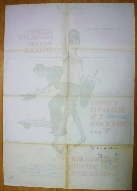 画像2: おしゃれ泥棒 スペイン版オリジナルポスター