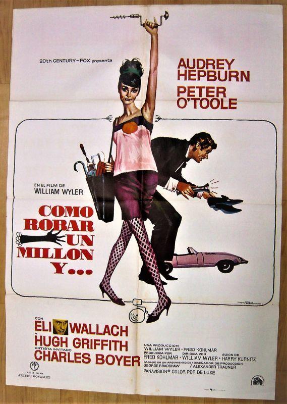 画像1: おしゃれ泥棒 スペイン版オリジナルポスター