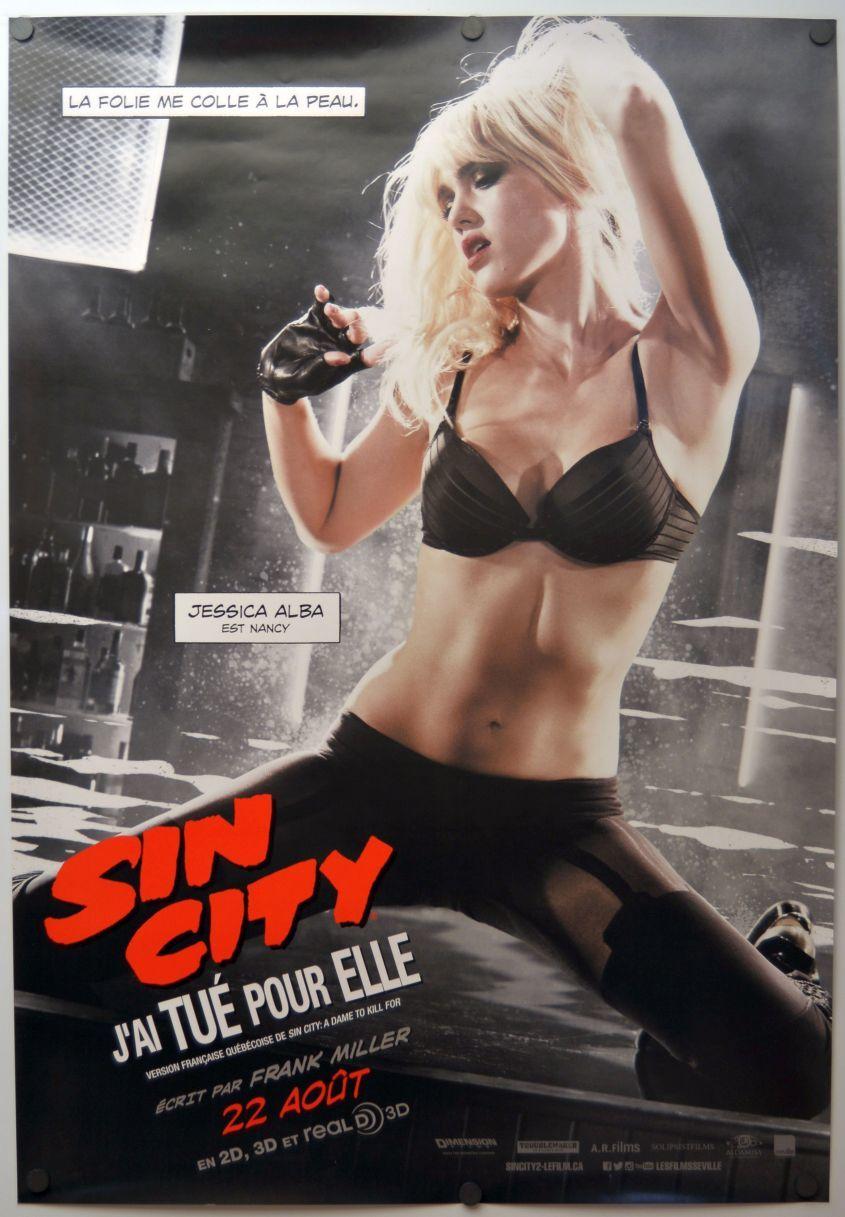 画像1: シン・シティ 復讐の女神 カナダ版オリジナルポスター