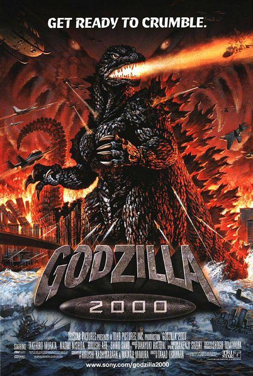 画像1: ゴジラ2000 ミレニアム US版オリジナルポスター