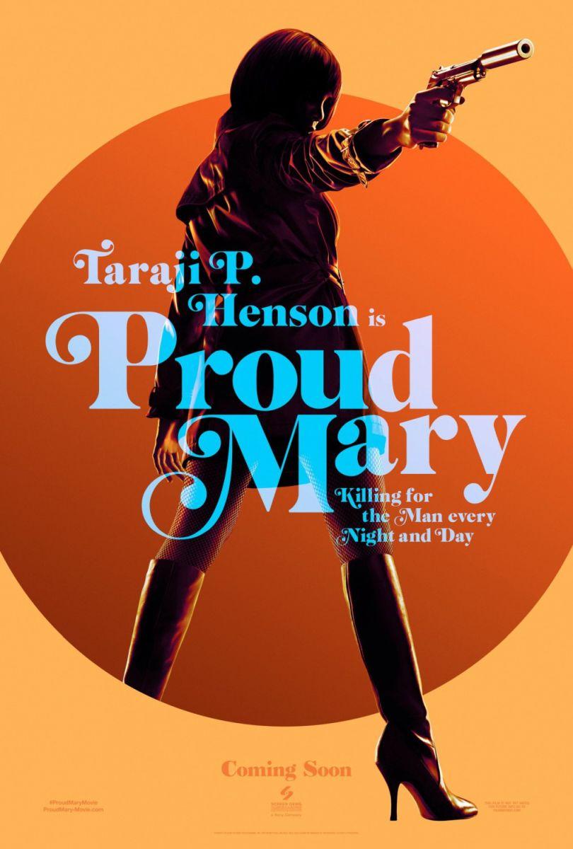 画像1: プラウド・メアリー/PRΟUD MARY US版オリジナルポスター