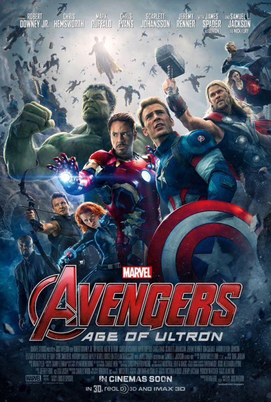 画像1: アベンジャーズ/エイジ・オブ・ウルトロン US版オリジナルポスター