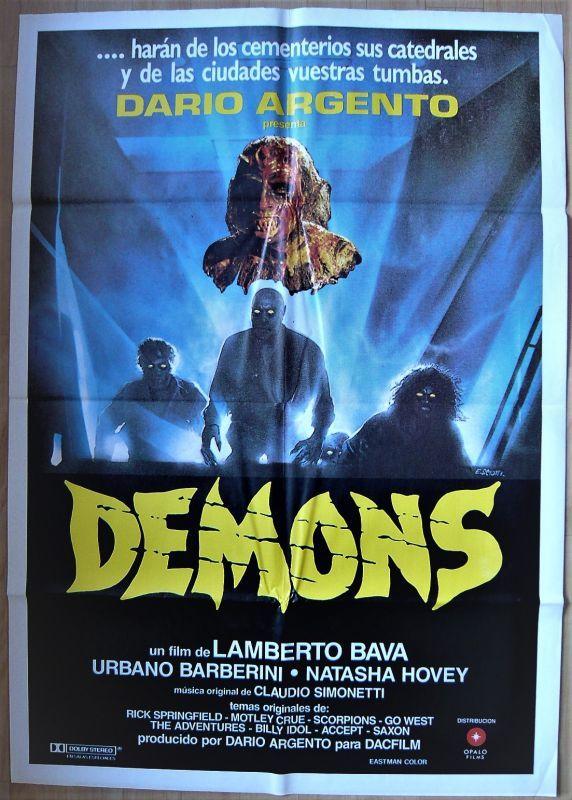 画像1: デモンズ スペイン版オリジナルポスター