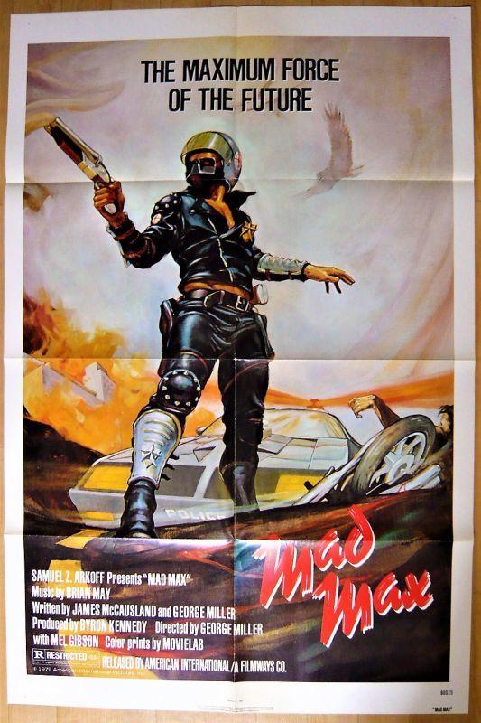 画像1: マッドマックス US版オリジナルポスター