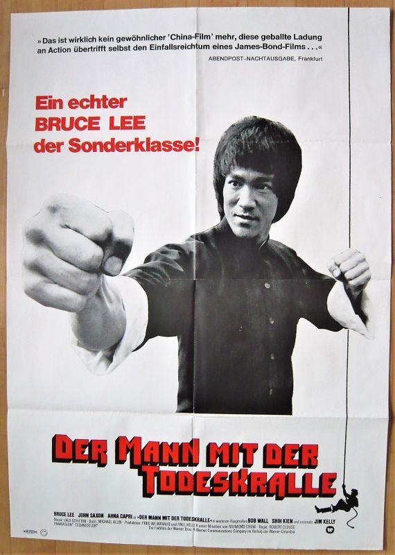 画像1: 燃えよドラゴン ドイツ版オリジナルポスター