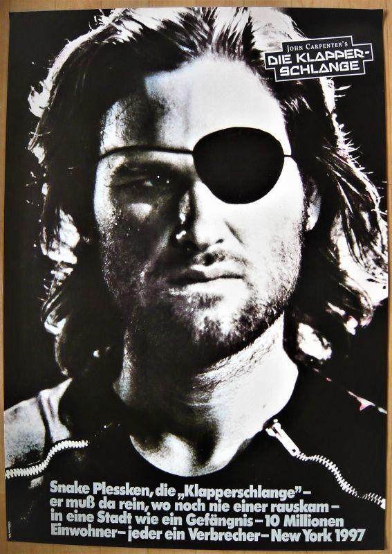 画像1: ニューヨーク1997 ドイツ版オリジナルポスター