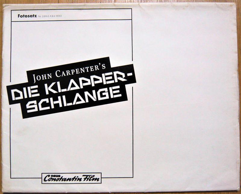 画像4: ニューヨーク1997 ドイツ版オリジナルロビーカード