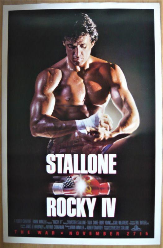 画像1: ロッキー4/炎の友情 US版オリジナルポスター