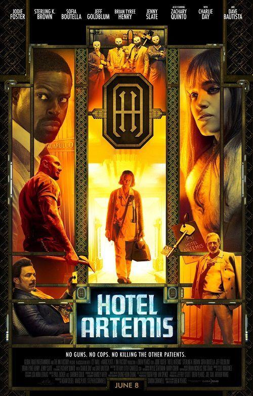 画像1: ホテル・アルテミス US版オリジナルポスター
