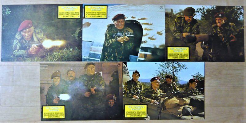 画像2: ワイルド・ギース ドイツ版オリジナルロビーカードセット
