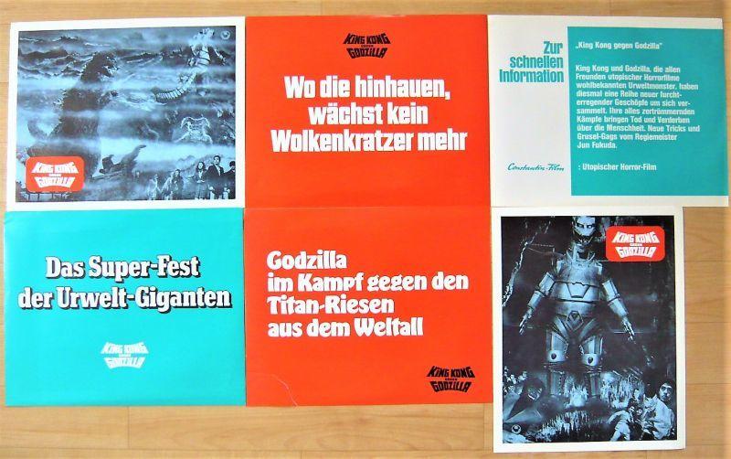 画像3: ゴジラ対メカゴジラ ドイツ版オリジナルロビーカードセット
