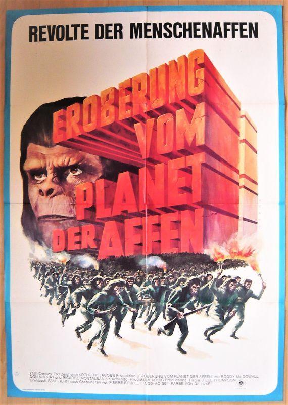画像1: 猿の惑星/征服 ドイツ版オリジナルポスター