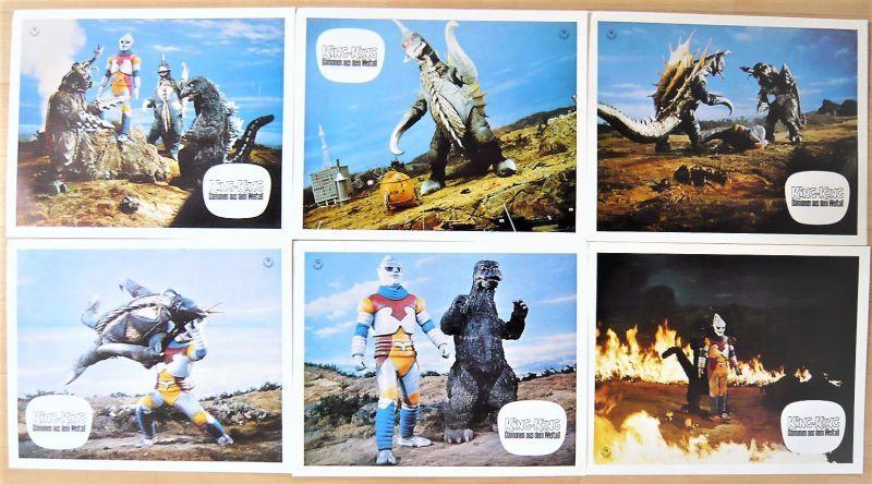 画像1: ゴジラ対メガロ ドイツ版オリジナルロビーカードセット