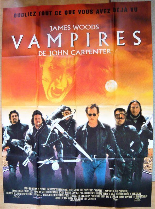 画像1: ヴァンパイア/最期の聖戦 フランス版オリジナルポスター