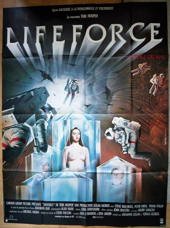 画像1: スペースバンパイア フランス版オリジナルポスター