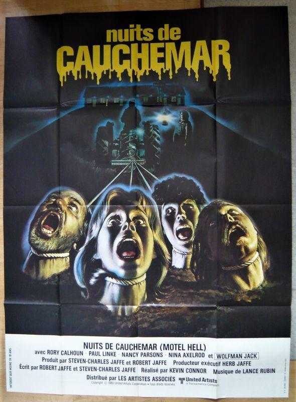 画像1: 地獄のモーテル フランス版オリジナルポスター