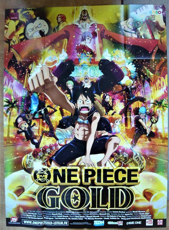 画像1: ワンピース ゴールド フランス版オリジナルポスター