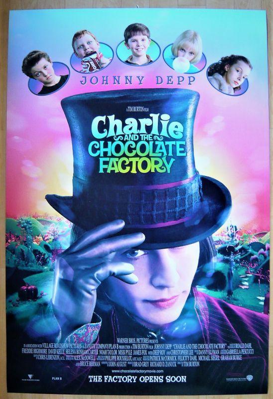 画像1: チャーリーとチョコレート工場 US版オリジナルポスター