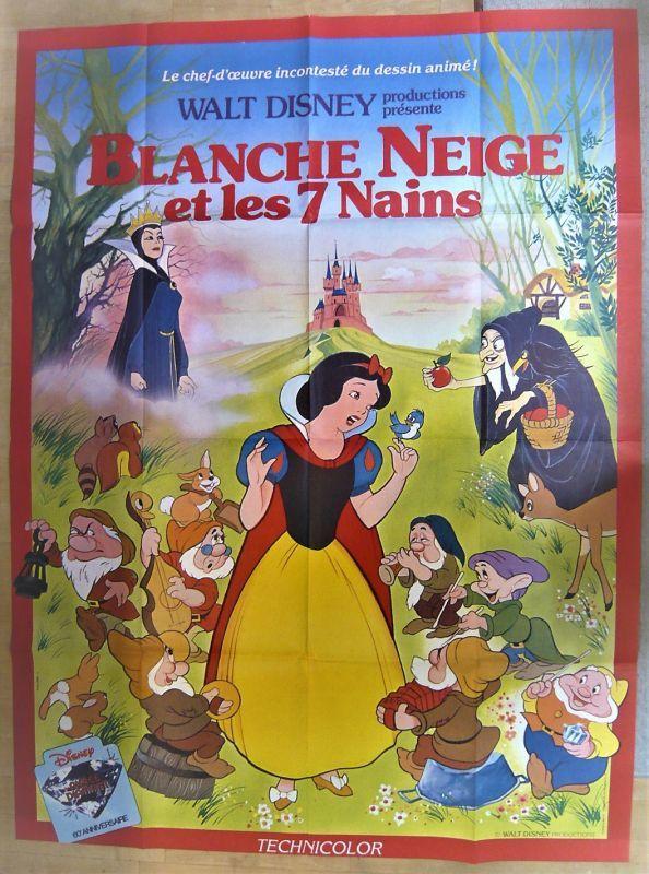 画像1: 白雪姫 フランス版オリジナルポスター