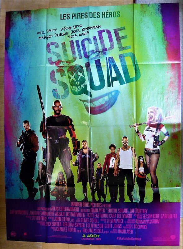 画像1: スーサイド・スクワッド フランス版オリジナルポスター
